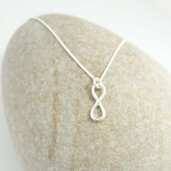 Sterling Silver Necklace with Infinity Charm