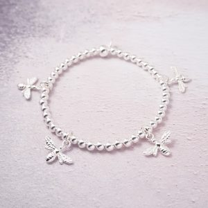 Sterling Silver bumble bee bracelet