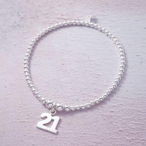 sterling silver 21 bracelet